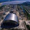 После аварии над четвертым реактором Чернобыльской АЭС был построен защитный саркофаг