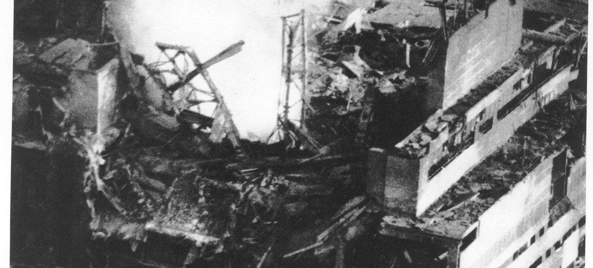 Взрыв на Чернобыльской АЭС стал самой крупной техногенной катастрофой.