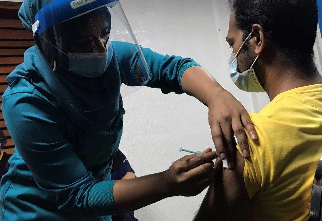 Le déploiement des vaccins contre la Covid-19 a commencé aux Maldives pour prévenir davantages d'infections