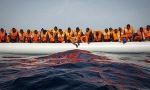 عبر أكثر من 16،500 مهاجر البحر الأبيض المتوسط إلى أوروبا في الأشهر الأربعة الأولى من عام 2021.