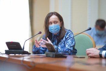 Глава представительства ООН на Украине Оснат Лубрани