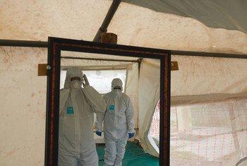 Secretário-geral destacou ainda a resposta das Nações Unidas à pandemia de Covid-19, que até esta terça-feirahavia matadomais de962 mil pessoas.