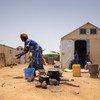 يعيش حوالي 11،000 لاجئ في مخيم غودوبو للاجئين في بوركينا فاسو.