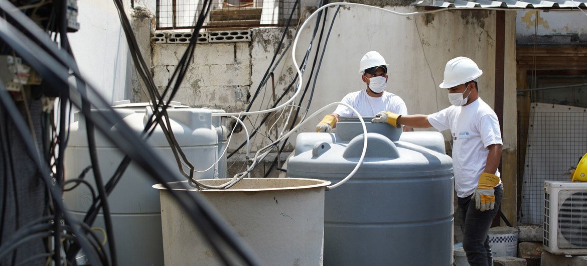 Water supply systems are on the verge of collapse in Lebanon (file photo).