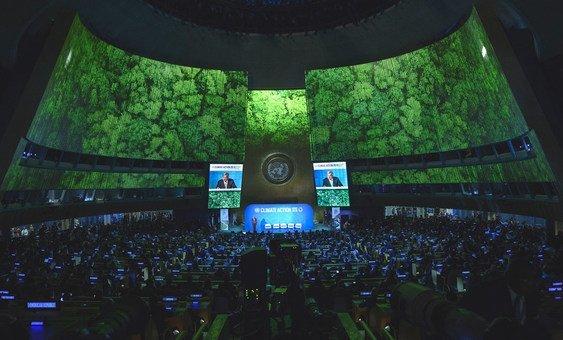 Assembleia Geral durante Encontro de Cúpula para a Ação Climática