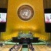 El presidente de Venezuela, Nicolás Maduro, en su discurso a la Asambla General de la ONU