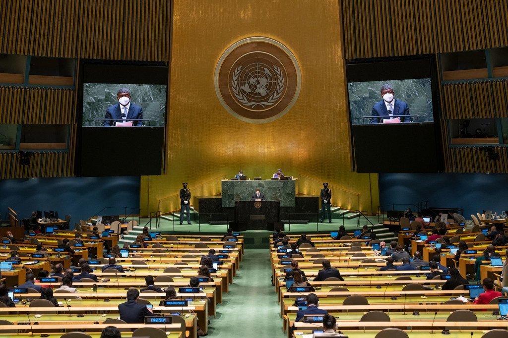 Na ONU, chefe de Estado de Angola também expressou sua inquietação com ações de extremistas
