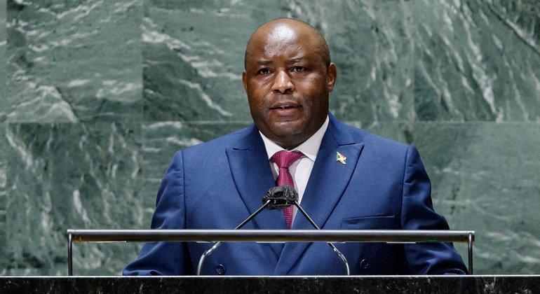 Withpeacerestored, Burundi president says poverty is the remaining threat