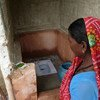 Sunaina borrowed the money to build a toilet in her village in Nepal.