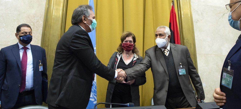 Acordo na Líbia é o mais recente sucesso dos esforços de mediação da ONU
