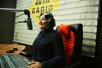 Радиожурналист Назира Иноятова занимает пост креативного и программного директора радиостанции «Avtoradio FM 102.0» в Ташкенте.