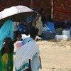 Des réfugiés éthiopiens dans un camp au Soudan.