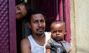 من الأرشيف: أسرة صومالية في مقديشو.