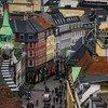 أحد شوارع مدينة كوبنهاغن، الدانمرك