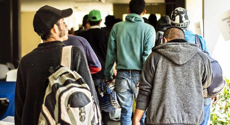 La OIM apoya a los migrantes centroamericanos que quieren regresar a sus países de origen desde México