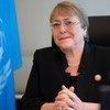 Верховный комиссар ООН по правам человека Мишель Бачелет.