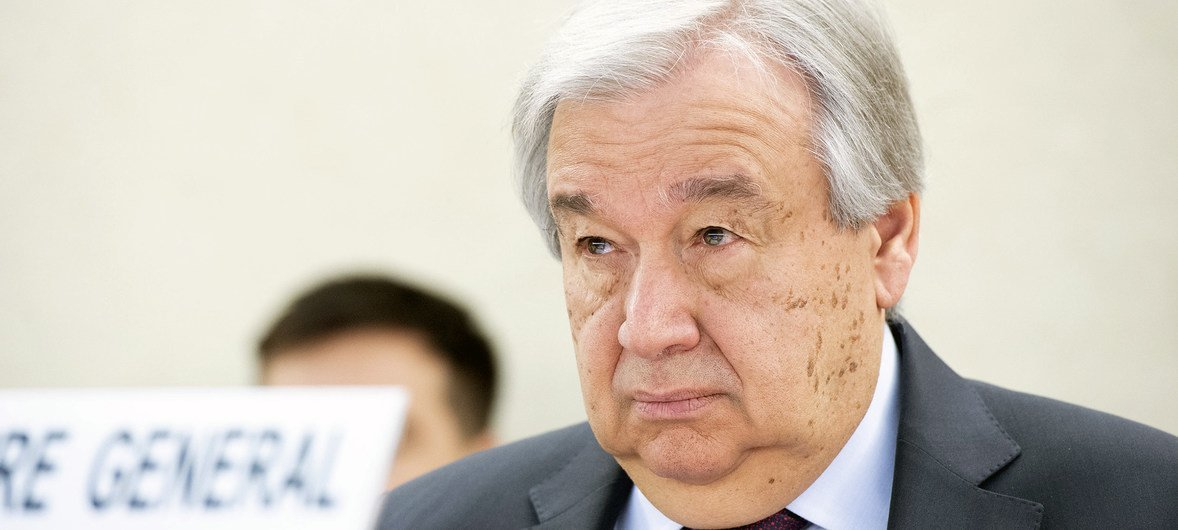 With human rights under attack, UN chief unveils blueprint for positive change