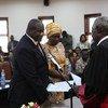 Hatua ya kuundwa Baraza la Mawaziri inafuatia kuapishwa kwa viongozi wakuu akiwemo Makamu wa Kwanza wa Rais Riek Machar na kuapishwa tarehe 22 Februari mwaka 2020 mjini Juba.