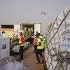 غانا أول دول تحصل على شحنة من لقاحات كوفيد-19 عبر مرفق كوفاكس.