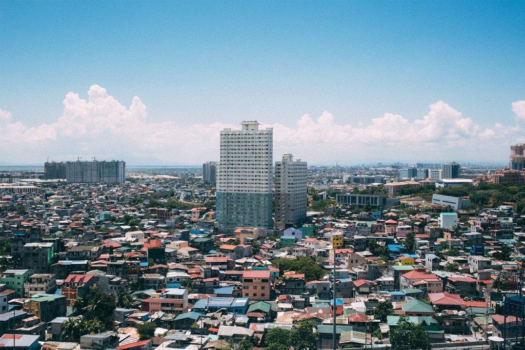 菲律宾马尼拉市景。