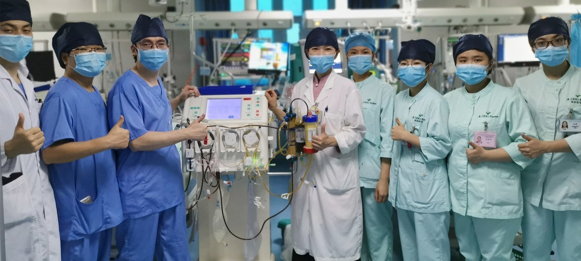 COVID-19 necessitates global increase in protective equipment, medical supplies: UN health chief