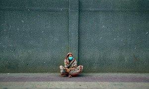 为防控新冠疫情,孟加拉国政府实施了出行限制措施,首都达卡的街头空空荡荡。