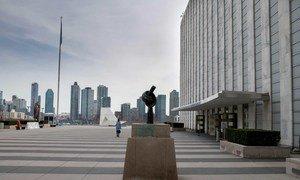 Практически все сотрудники ООН, как и жители многих стран, вынуждены работать дистанционно,.