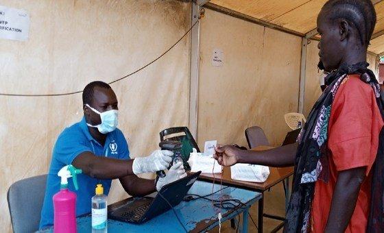 ID verification at the Kakuma Camp in Kenya