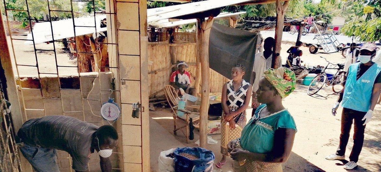 O Programa Mundial de Alimentação, PMA, e parceiros apoia 19 mil famílias.