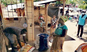 Msumbiji: Kadi za e-vocha ya WFP  inasambazwa na ofisi ndogo ya Tere yake katika wilaya za Changara na Moatize.