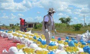 Msumbiji,Mgao wa Chakula