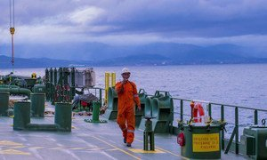 Seafarers are on the front line of the COVID-19 pandemic, playing an essential role in maintaining the flow of vital goods, such as food and medical supplies.
