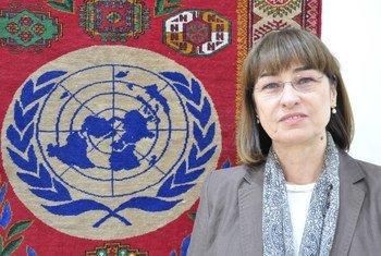 Глава Представительства ООН в Туркмекнистане Елена Панова