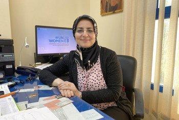 هبة الزيان، مديرة مكتب هيئة الأمم المتحدة للمرأة في قطاع غزة