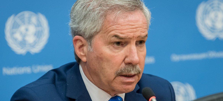 O ministro das Relações Exteriores da Argentina, Felipe Carlos Solá, que disse que seu país está disposto a negociar a soberania das ilhas