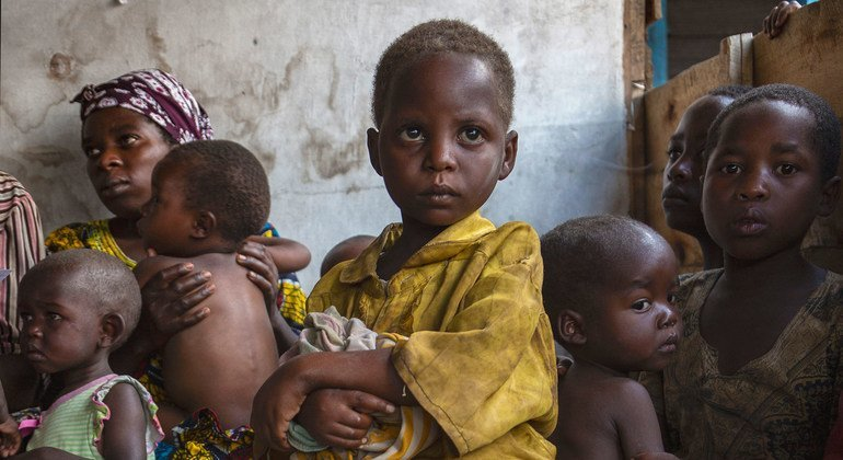 More than three million children have been displaced in eastern Democratic Republic of the Congo due to militia violence.