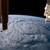 Furacões, como o Laura, podem ser vistos do espaço, como nesta imagem da Estação Espacial Internacional