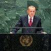 土耳其总统埃尔多安出席联合国大会第74届会议一般性辩论。
