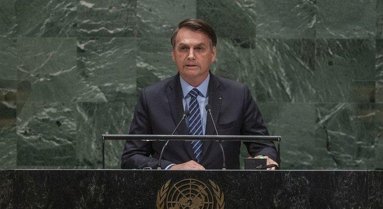 Brazilian President speaks out against 'media lies' surrounding Amazon fires