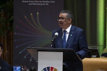 Tedros Adhanom Ghebreyesus, Director-General of the World Health Organization (WHO).