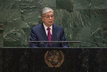 Президент Казахстана Касым-Жомарт Токаев выступил на 74-й сессии Генассамблеи ООН.