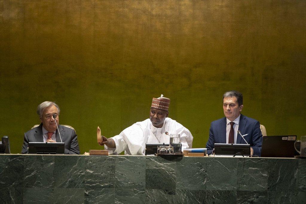 Photo : 74ème session de l'Assemblée générale de l'ONU