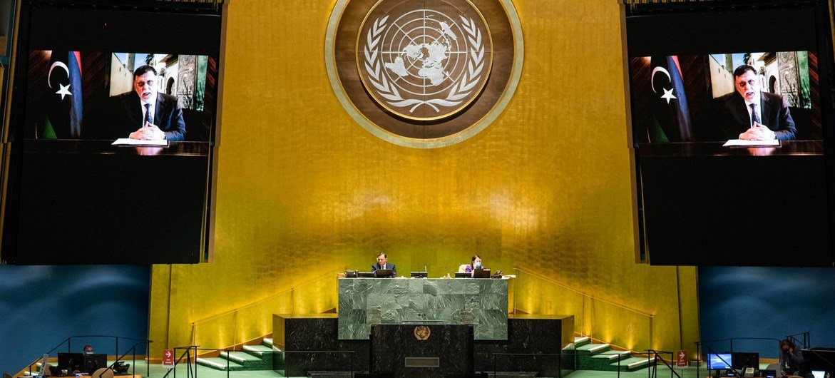 Глава правительства национального единства Ливии Файез Саррадж