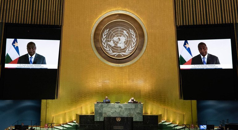 CAR President calls for better representation of Africa on the Security Council - news un