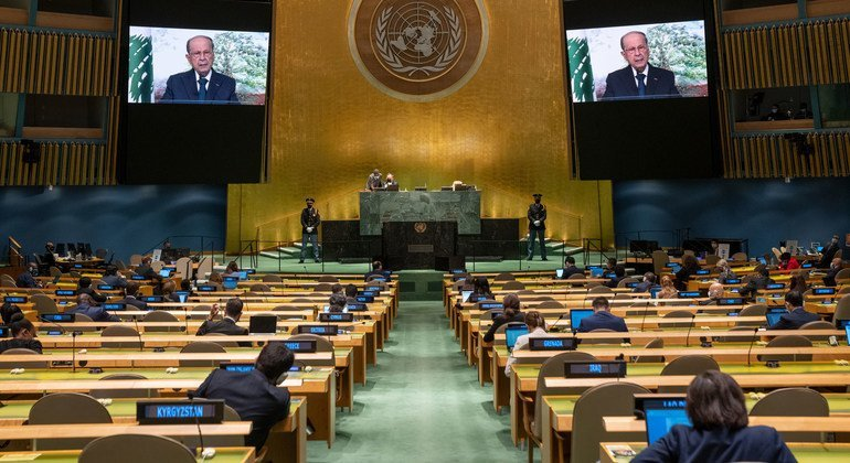 New Government will earn confidence of Lebanese people and international community, President tells UN