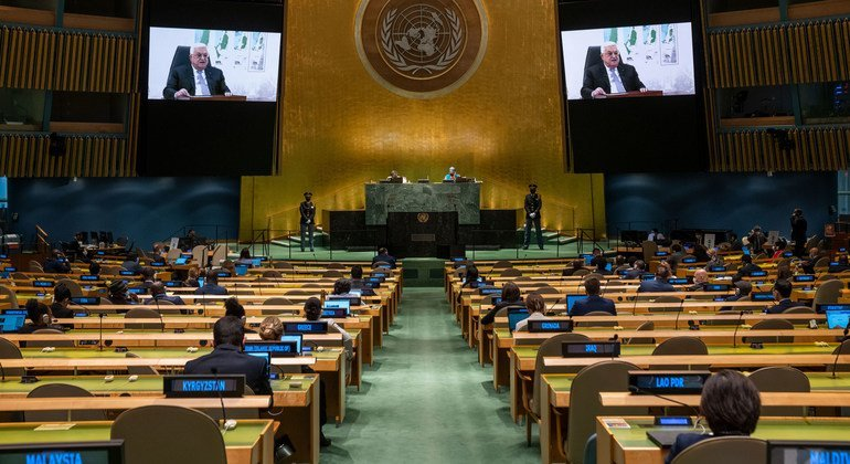 With region'at a crossroads', Palestinian President calls on UN's Guterres to convene international peace conference