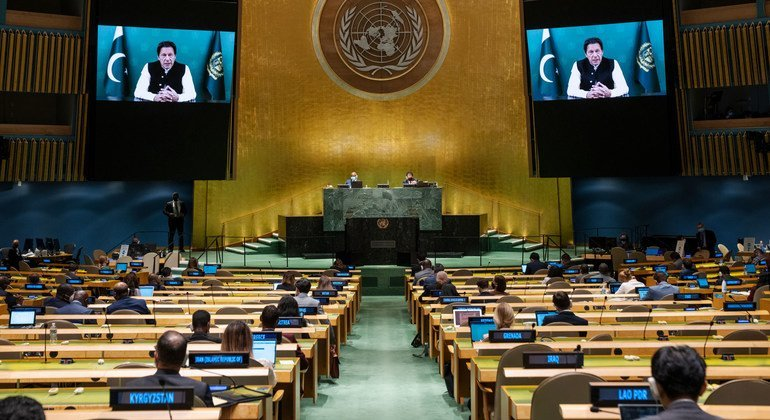 At UN, Pakistan Prime Minister urges 'bold steps' to prevent humanitarian crisis Afghanistan