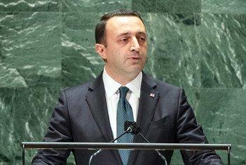 Премьер-министр Грузии Ираклий Гарибашвили выступил на 76-й сессии Генеральной Ассамблеи ООН.