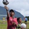 Fútbol para la Reconciliación, un evento realizado entre personas involucradas en el proceso de paz en Colombia.