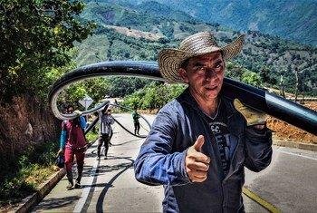 Abastecimiento de agua entre los municipios colombianos de La Paz y Manaure